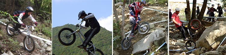BikeTrial全日本選手権近畿大会 20051030