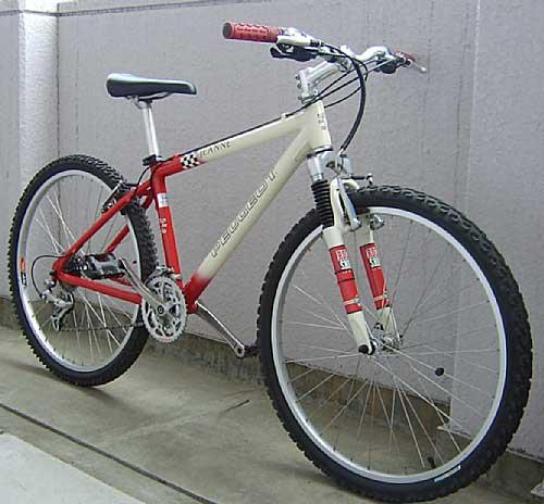 持ち帰った自転車