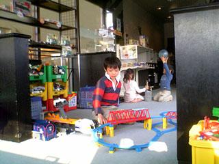 鉄道おもちゃ屋 最終日   20080429