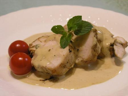 鶏肉のチーズファルシ