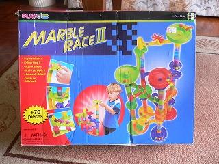 マーブルレース 外箱