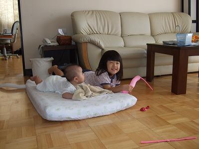 姉妹で遊ぶ1
