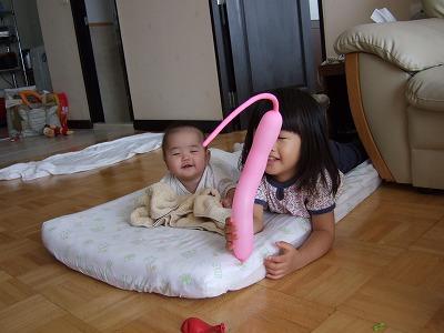 姉妹で遊ぶ2