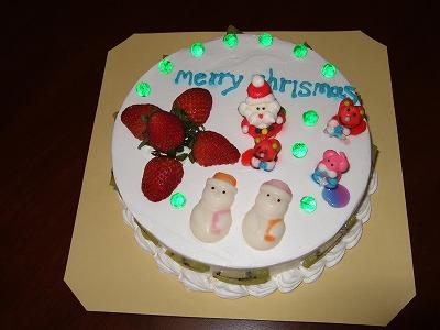 特製クリスマスケーキ