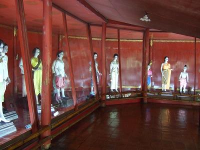 タイの歴代著名人の展示