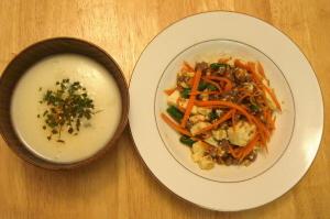 18 油味噌の野菜炒めとジャガイモのポタージュ.jpg