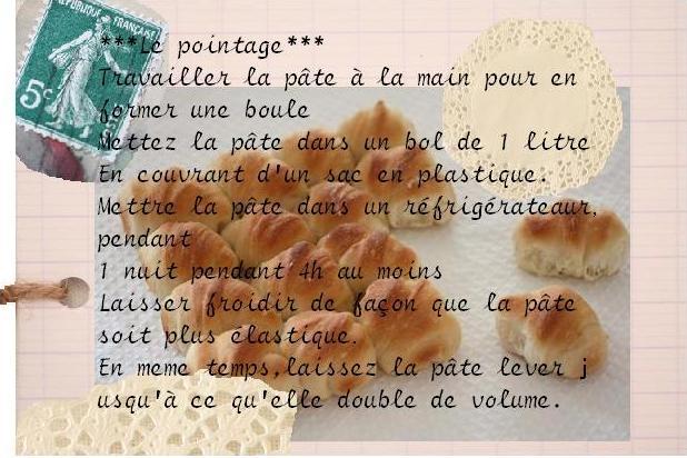 こねないパン、シロワッサンカレンダー2011 7月&フランス語レシピ 配布~!大変大変お待たせ。