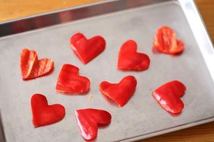 バレンタインのハートパンレシピ