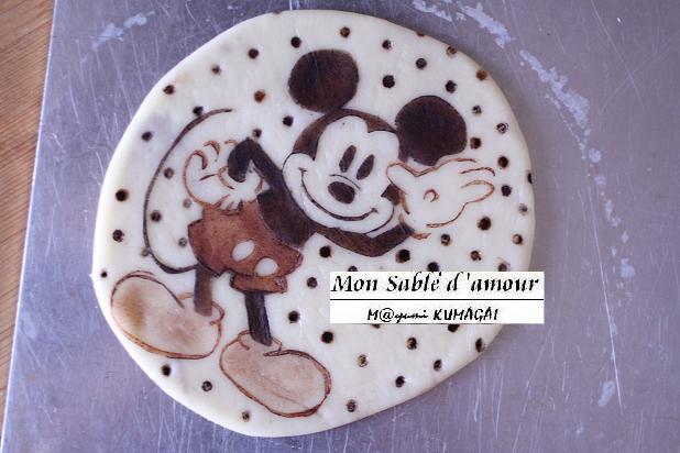 ミッキーマウスクッキー作り方