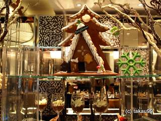 インターコンチネンタルバンコク クリスマスディナービュッフェ
