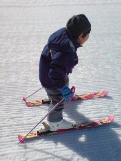 スキーデビュー2