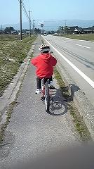 坊主の自転車