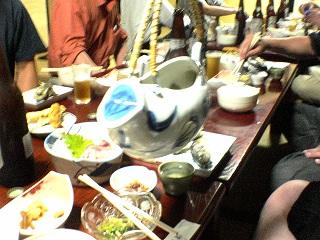 民宿おかべ料理