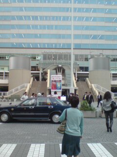 品川駅出口