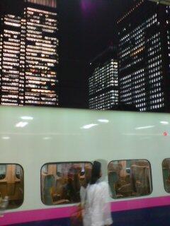 帰りの東京駅にて