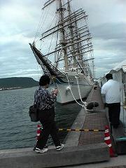 高松港の海王丸
