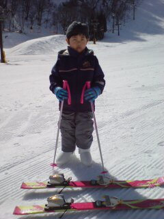 スキーデビュー1