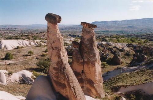 カッパドキア・妖精の煙突(トルコ)