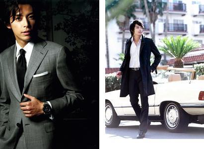 カジュアルだけでなくビジネススーツ両方着こなせる、数少ないモデルとしても有名で、 人気メンズファッション誌 「Gainer」の表紙も何度も飾っているんですよ。