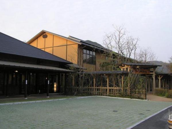 星の温泉館「きらら」「池の山荘」外観(福岡県 八女)