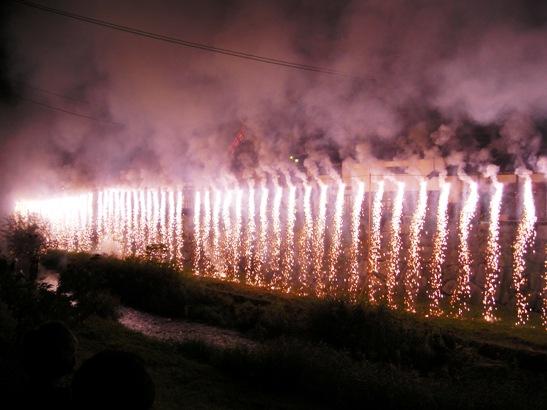 神道祭りナイアガラ4