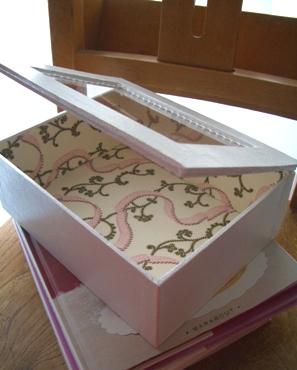 アクリル板の箱