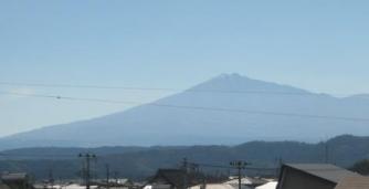 出羽富士(鳥海山)