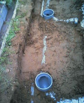 下水管設置
