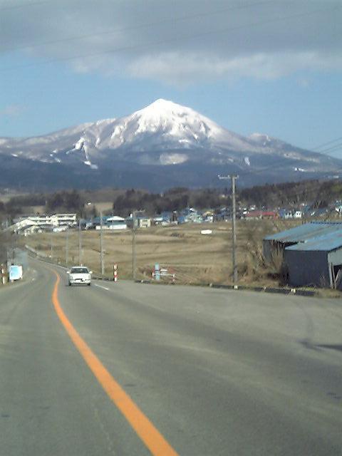 生井坂磐梯山