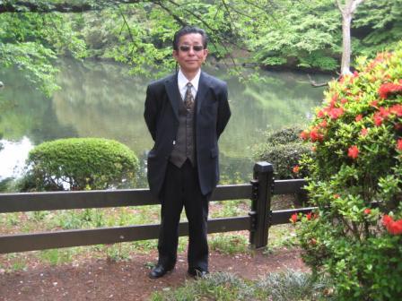 新宿御苑にて230430