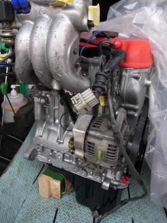 ニューエンジン組み立て(2)