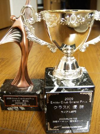2009エンジョイGP(Kクラス表彰)