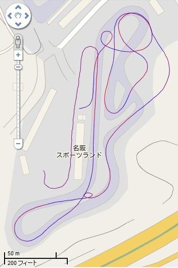 LAP 名阪C(地図)