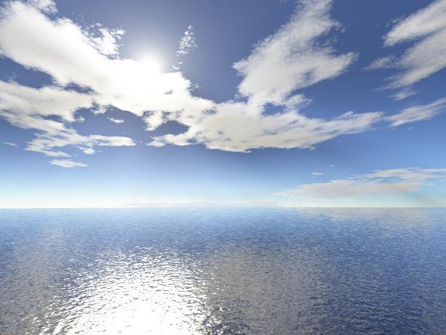 beutiful ocean view