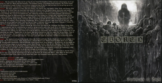 evoken antithesis of light megaupload Find evoken bio, music, credits, awards, & streaming links on allmusic - bringing out new stamina to the death and doom.