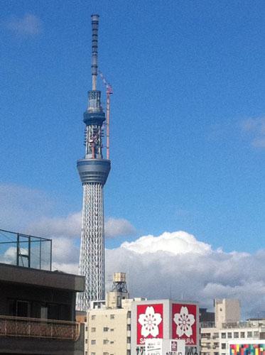 2011年6月8日 東京スカイツリー