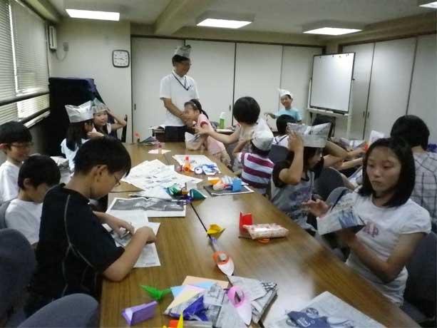 すべての折り紙 折り紙 カエル 作り方 : 折り紙講習会 | 東仲ノ町子ども ...