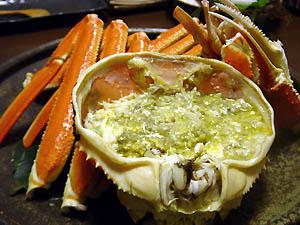 間人(たいざ)蟹のかに味噌