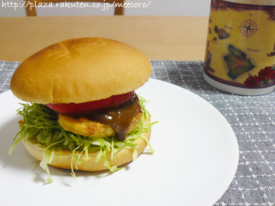 チキンカレーバーガー