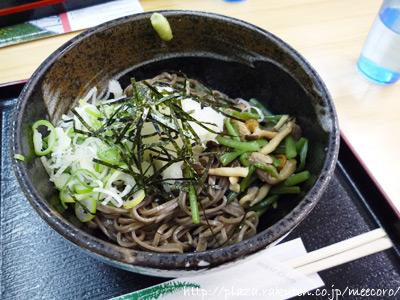 山菜おろし蕎麦