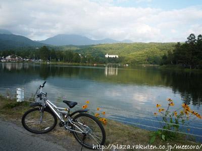 蓼科湖サイクリング