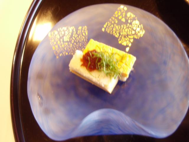 1【前菜】蕗錦糸巻き