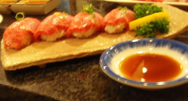 特選トロ寿司