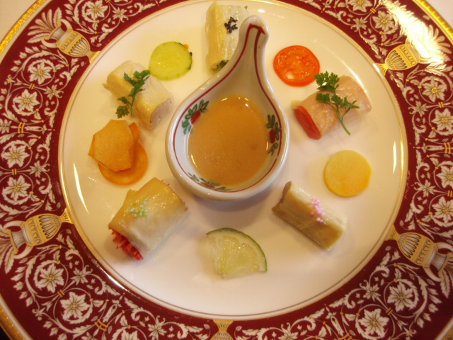 8【酢の物】湯葉巻き5種2