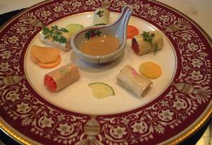 8【酢の物】湯葉巻き5種3