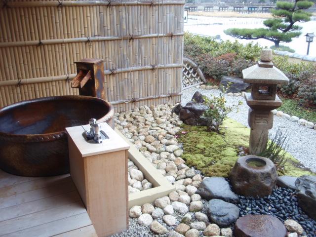 特別室の露天風呂