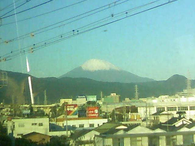 今日の富士山 雪化粧 2008年11月19日