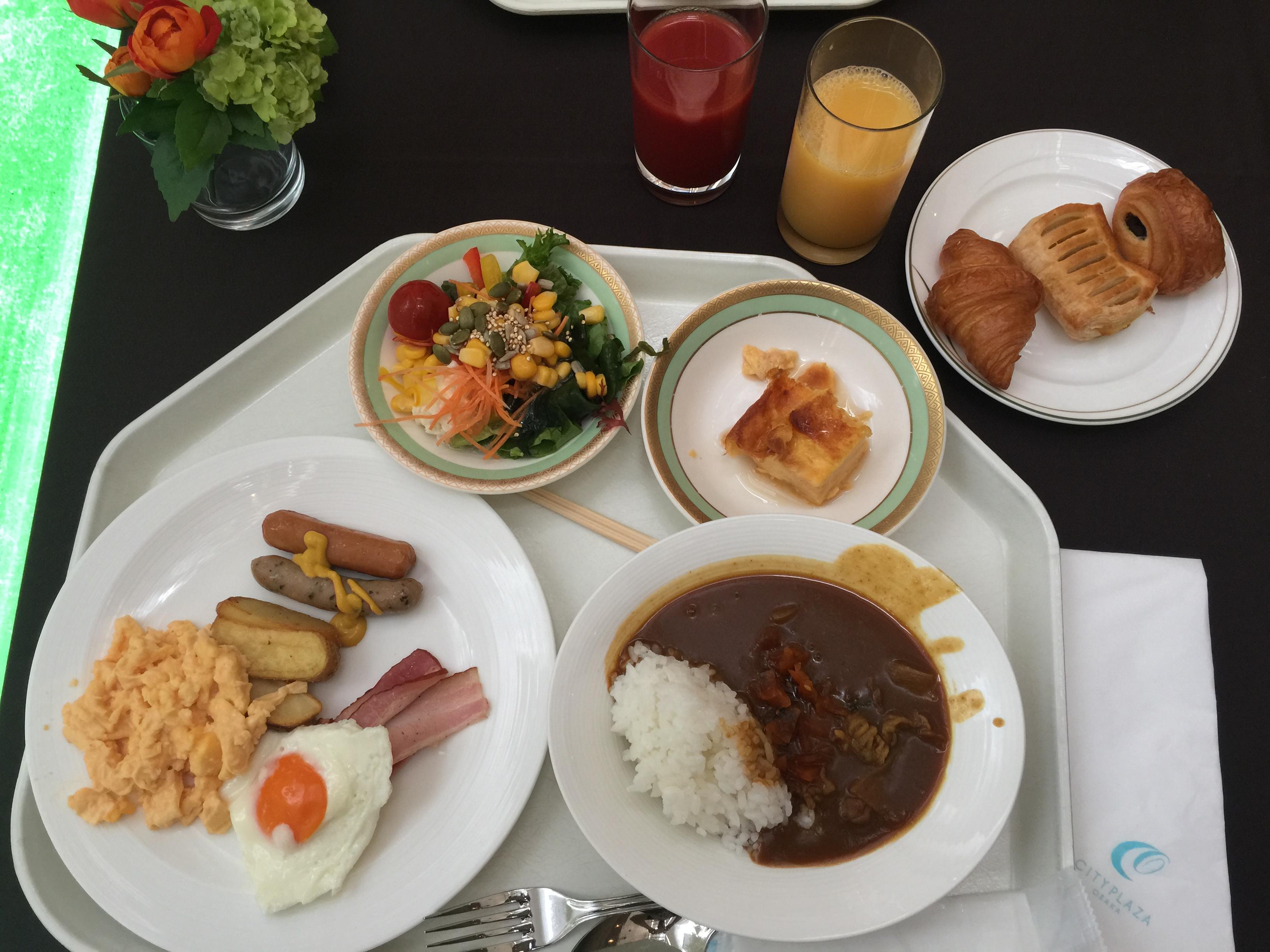 「シティプラザ大阪HOTEL&SPA 朝食」の画像検索結果