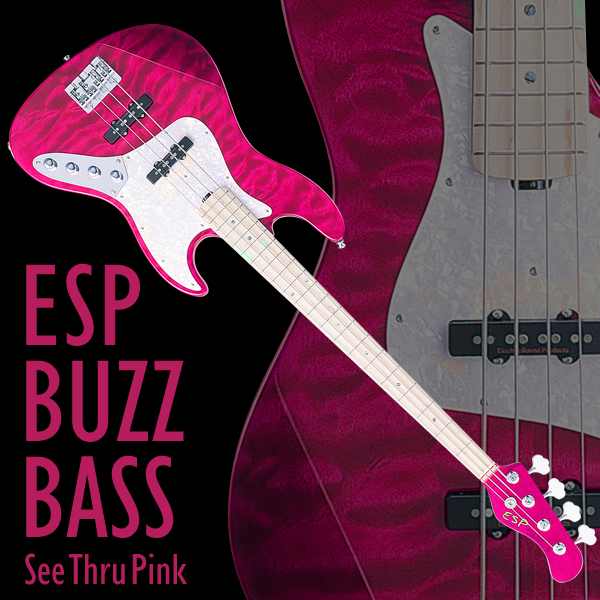 BUZZ BASS See Thru Pink-600x600