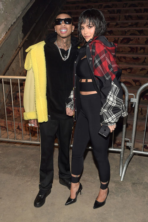Tyga-Kylie-Jenner-Alexander-Wang-Yeezy-Season-jacket-Needles-pants-custom-Nike-sneakers.jpg